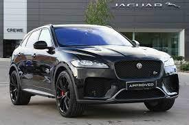Jaguar F Pace 5 0 Supercharged V8 Svr 5dr Auto Awd For Sale Jaguar Suv Jaguar Awd