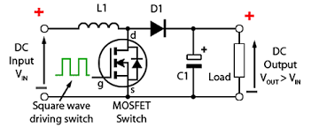 boost converters 3 2 1 basic boost converter circuit