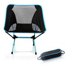 Lightweight Fishing <b>Chair Camping Folding Outdoor 7075</b> Garden ...