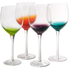 goblet style wine glasses. Perfect Wine Long Stem Wine Glasses  Fizzy Style Set Of 4 Image Inside Goblet H