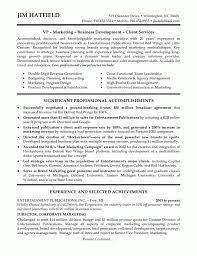 Sales And Marketing Resume Summary Best Resume Templates