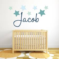 cool wall stickers nursery young name of wandtatoos