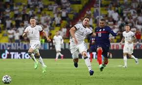 Hummels own goal gives france win gnabry spurns chance to level for germany. France Win Heavyweight Clash With Germany Thanks To Hummels Own Goal Euro 2020 The Guardian