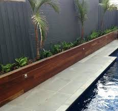 landscaping timber wall landscape timber ideas