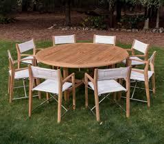 round teak patio dining set westminster teak outdoor furniture of circular patio furniture