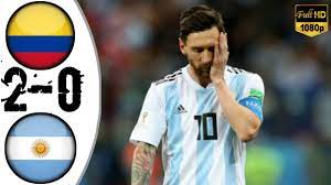 Colombia vs Argentina 2-0 Extended ...