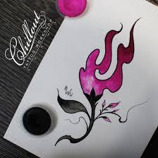 эскиз татуировки цветок Chillout Tattoo Workshop