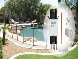 4 x 12 brown diy pool fence