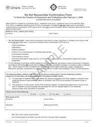 Sample Do Not Resuscitate Form Sample Do Not Resuscitate Form Resume Template Sample 7