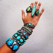 antique authentic navajo turquoise via jessie western mive swoon