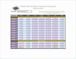 Employee Schedule Template Microsoft Archives Bi Brucker