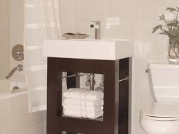 Small Bathroom Vanities HGTV - Bathroom cabinet remodel