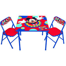 toddler activity table  chairs set (your choice of character