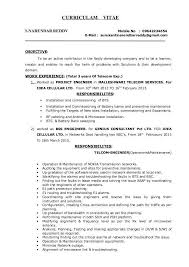 Sample Telecommunications Consultant Resume Telecommunication Consultant Sample Resume Sample