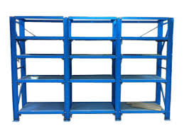 Powder Coating Racks Suppliers Steel Drawer Mould Storage Racks 100 Ton Per Drawer Load Powder Coated 24