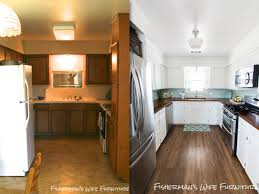 Diy Kitchen Makeover Contest Fishermans Wife Furniture Diy Refrigerator Enclosure