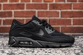 nike shoes air max black 90. nike air max 90 ultra br triple black shoes sneaker bar detroit