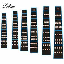 Violin Music Scales Chart Us 1 43 Zebra Violin Fretboard Scale Stickers Fret Marker Labels Fingering Chart For 1 2 1 4 3 4 4 4 1 8 1 10 Violin In Violin Parts Accessories