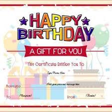 Custom Gift Certificate Templates Free Certificate Templates Free Custom Gift Certificate Template