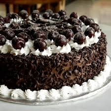 Decorated German Chocolate Cake How To Make Black Forest Cake How To Icing On The Cake How To