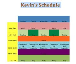 Mrteacherkevin Excel Challenge 1 Make A Schedule
