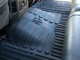 dodge ram 2500 3500 mega cab rear rubber black slush floor mats new oem mopar