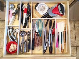 diy kitchen utensil drawer organizer 8 month update