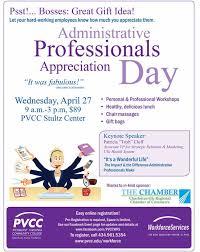 Administative Day Pvcc 2016 Administrative Professionals Appreciation Day April 27