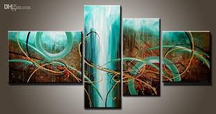 2018 art modern abstract oil painting multiple piece canvas art sets green passion new arrivals from topchinasupplier 44 02 dhgate com