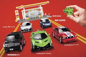 new model car kit releasesShell Releases New Toys For Drivers