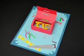 How To Make A Fathers Day Toolbox Pop Up Card Creative Pop Up Cards