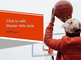 Basketball Powerpoint Template Free Street Powerpoint Templates
