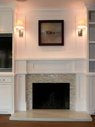 glass tile fireplace design ideas remodel pictures houzz