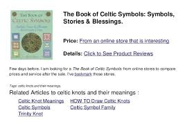 Celtic Knot Symbols And Meanings Chart Celtic Knot Meanings Chart Celtic Knots Symbols And Meanings