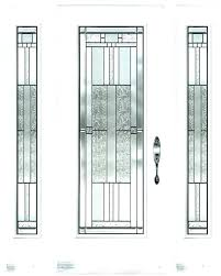 glass front door inserts elegant leaded doors stained throughout 3 beveled cabinet