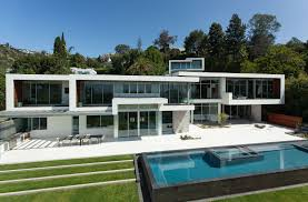 swimming pool, Fascinating White Home Decorating Idea Feat Cool Fixed Glass  Window Also Completed With