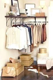 diy bedroom clothing storage. Bedroom Storage Ideas For Clothing Hack Install A Clothes Rack In Diy W