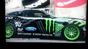 Forza Horizon Design Nitto Tire Monster Energy Mustang Rtr Vaughn