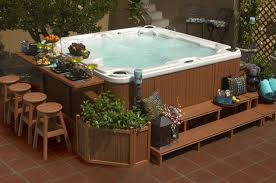 Best 25  Hot tub privacy ideas on Pinterest   Hot tub patio moreover  furthermore  in addition 166 best Our Future Hot Tub   Deck Ideas images on Pinterest together with Best 25  Hot tub deck ideas on Pinterest   Hot tub patio  Hot tubs as well Hot Tub Patio Ideas  Patio Ideas Glow Person From Limelight besides  also  additionally Best 25  Sunken hot tub ideas that you will like on Pinterest as well Best 25  Modern hot tubs ideas on Pinterest   Modern backyard furthermore Landscaping And Outdoor Building   Outside Wood Deck Ideas. on deck with tub patio ideas