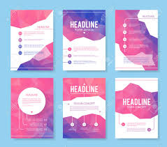 Design Brochure Template Abstract Brochure Or Flyer Design Template Book Design Blank