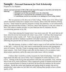 scholarship templates personal statement scholarship template best business template