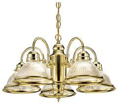 millbridge 5 light chandelier polished brass