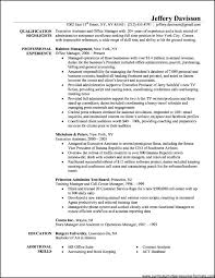 Office Administration Resume Sample Sevte
