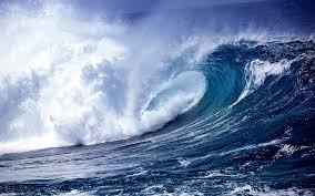 Ocean Wave Background Ocean Wave Backgrounds Pixelstalk Net
