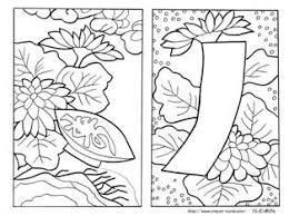 花札 イラスト 塗り絵