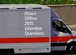 2015 prison officer interview questions