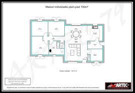 plan de maison individuelle de plain pied