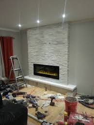 now that the the fireplace was finished there was still one thing left to do