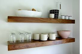 Walnut Floating Shelves BQ
