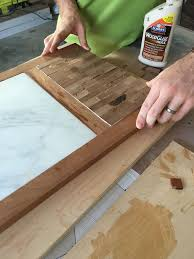 DIY Cutting Board with Cheese Plate - Step 6